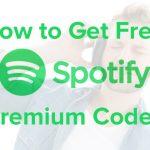 free spotify premium codes