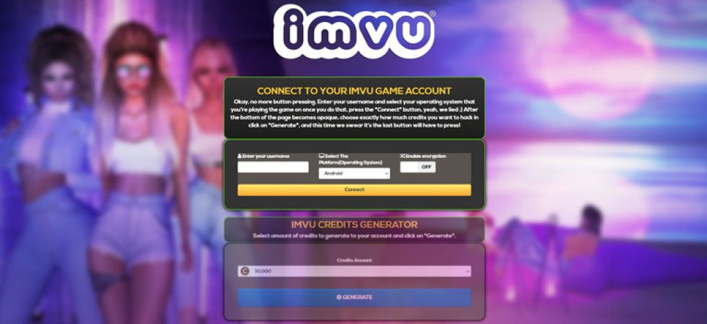 You Must Try This Free Online Credits Generator For IMVU