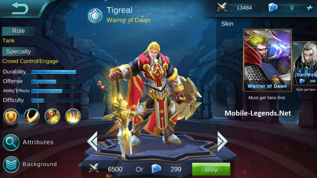 Mobile Legends Tank