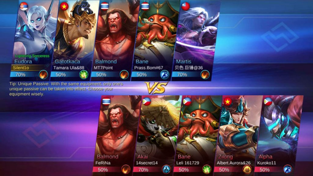 Mobile Legends team
