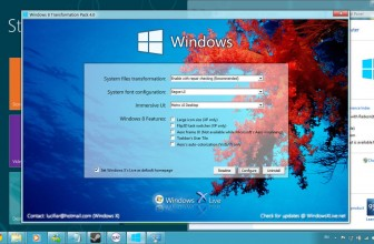 Download Windows 7 to Windows 8 Transformation Pack – 8 Skin Pack for 7